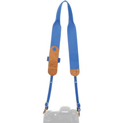 Hellolulu Tyler Camera Neck Strap (Dutch Blue)
