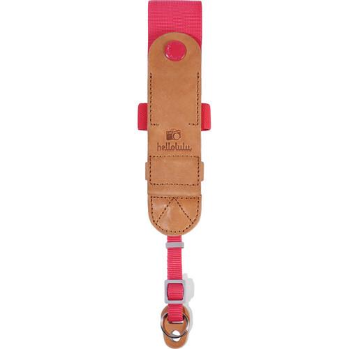 Hellolulu Skylor Camera Wrist Strap (Wild Strawberry)