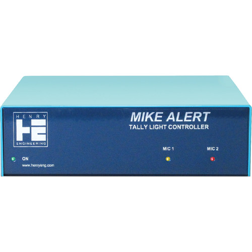 Henry Engineering Mike Alert Dual-Color Tally Light Controller