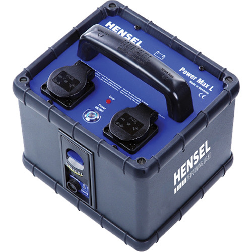 Hensel Power Max L Lithium Mobile Power Supply (120VAC)