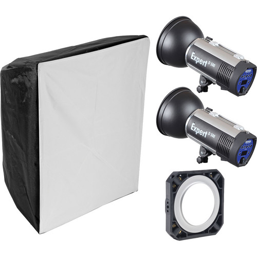 Hensel Expert D1000 2-Light Kit with Chimera Softbox