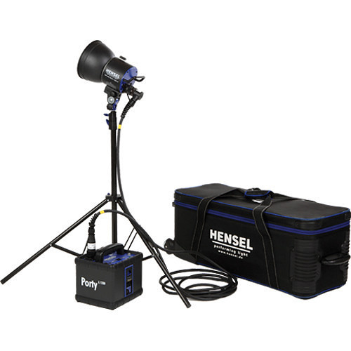 Hensel Porty L 1200 LED Kit with 1 Flash Head