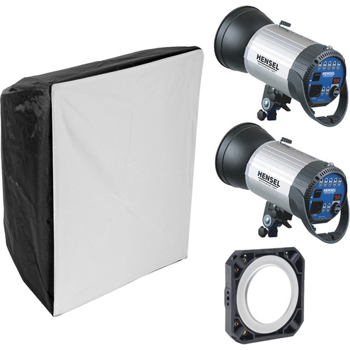 Hensel Integra 500 2-Light Kit with Chimera Softbox