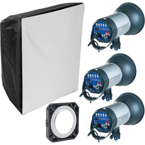 Hensel Integra 500 Plus with FREEMASK 3-Light Kit