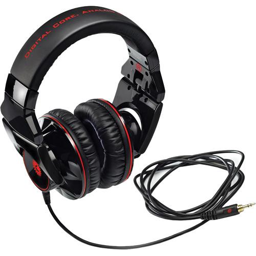 Hercules HDP DJ-Adv G401 DJ Headphones (Black)