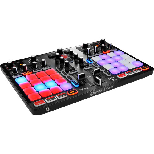 Hercules P32 DJ Controller with High Performance Pads