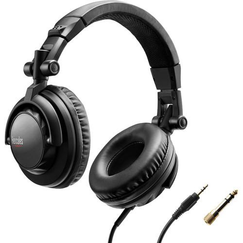 Hercules HDP DJ45 Closed-Back, Over-Ear DJ Headphones