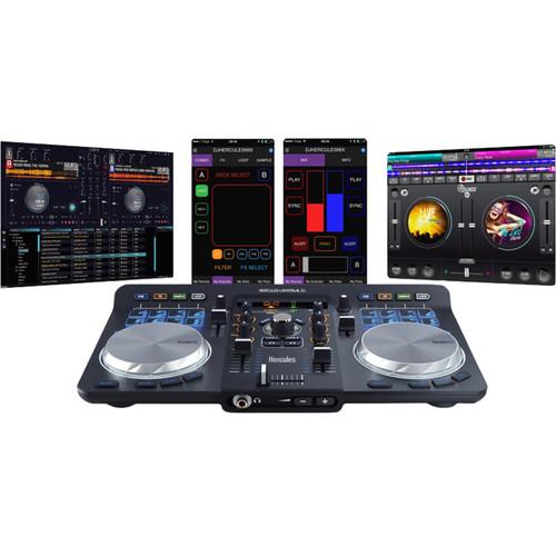 Hercules Universal DJ Bluetooth DJ Software Controller