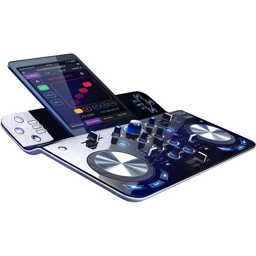 Hercules DJControlWaveM3 Battery-Powered Bluetooth DJ Software Controller