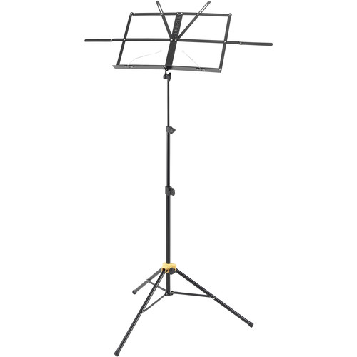 HERCULES Stands EZ Desk 3-Section Music Stand with Bag