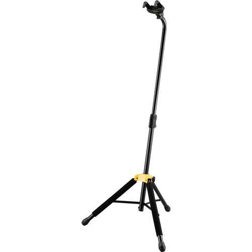 HERCULES Stands Auto Grip System AGS Single Guitar Stand (Black)