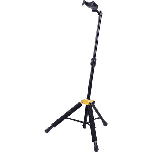 HERCULES Stands Plus Series Universal Autogrip Guitar Stand With Foldable Yoke