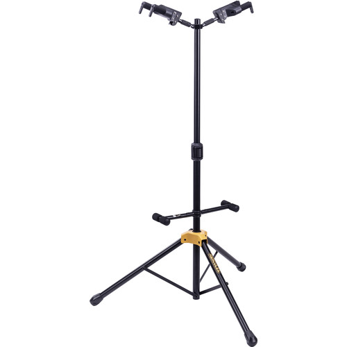 HERCULES Stands Plus Series Universal Autogrip Duo Guitar Stand With Foldable Backrest