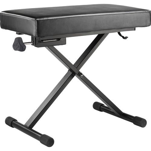 HERCULES Stands EZ Height-Adjustable Keyboard Bench