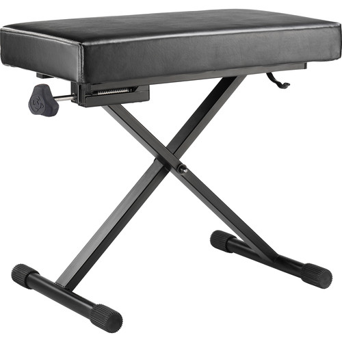 HERCULES Stands EZ Height-Adjustable Keyboard Bench