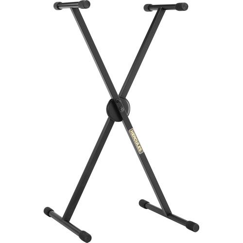 HERCULES Stands EZ-Lok Single-X Keyboard Stand