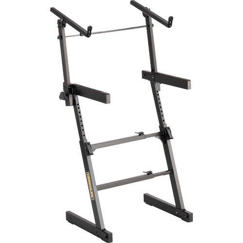 HERCULES Stands Auto-Lock Z-Style Keyboard Stand with EZ-Lok Tier
