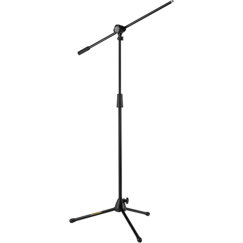HERCULES Stands Stage Series Quick Turn Tripod Microphone Stand with 2-in-1 Boom