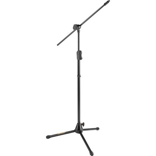 HERCULES Stands MS533B EZ Clutch Tripod Microphone Stand with Hideaway Boom