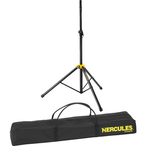 HERCULES Stands Stage Series Speaker Stand with Smart Adaptor with Bag (Twin Pack)