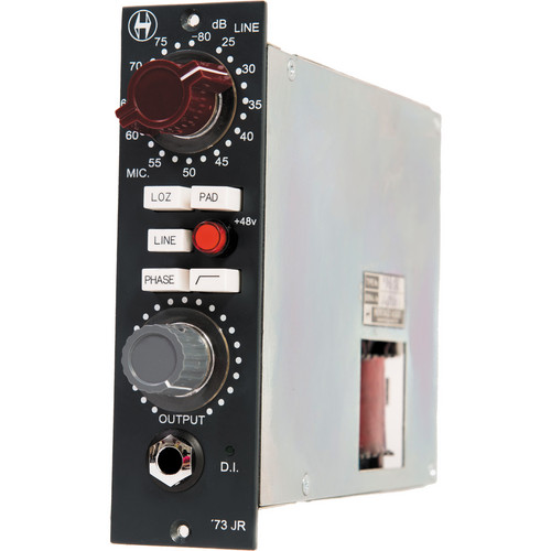 Heritage Audio '73 Junior API 500 Series Microphone Preamplifier Module