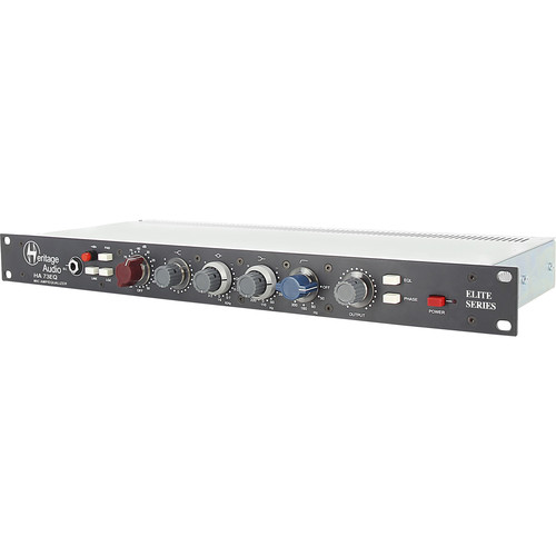 Heritage Audio HA 73EQ Mono Elite Series Microphone Preamplifier with EQ