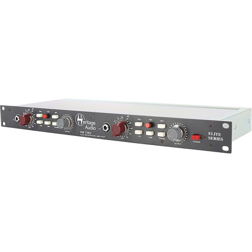 Heritage Audio HA 73X2 Dual-Channel Elite Series Microphone Preamplifier