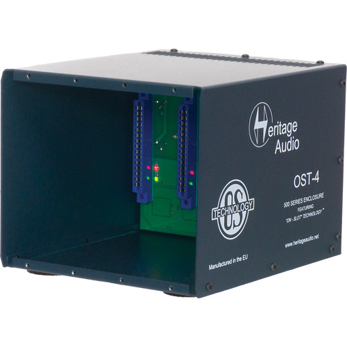 Heritage Audio OST-4 Enclosure for 500 Series Modules