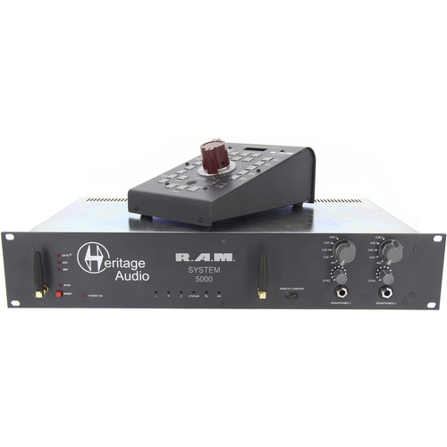 Heritage Audio RAM System 5000 5.1 Rackmount Monitoring System