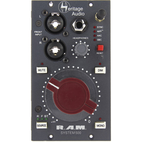 Heritage Audio RAM System 500 Monitoring Control System Module for 500 Series