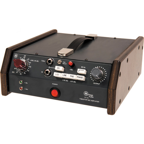 Heritage Audio TT-73 Tabletop Microphone Preamplifier