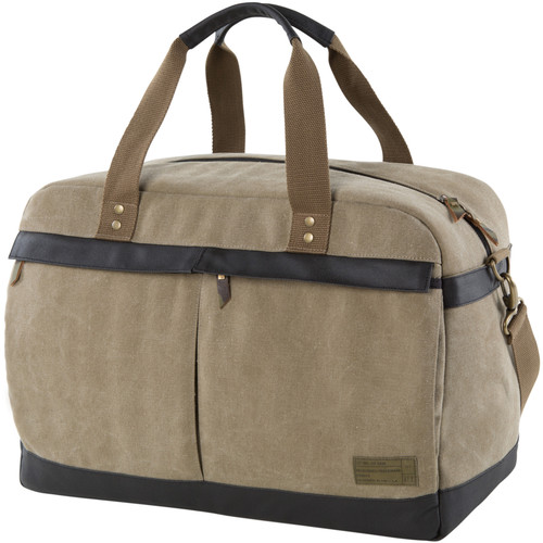 Hex Infinity Overnight Travel Duffel (Khaki)