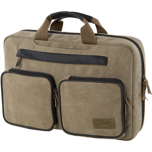 Hex Supply Convertible Laptop Briefcase (Khaki)
