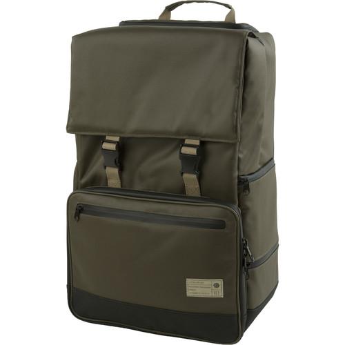 Hex Grid DSLR Backpack (Olive)