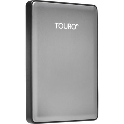 HGST 1TB Touro S Ultra-Portable External Hard Drive (Platinum)