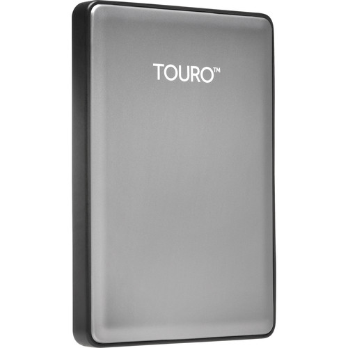 HGST 500GB Touro S Ultra-Portable External Hard Drive (Platinum)