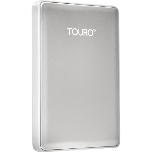 HGST 1TB Touro S Ultra-Portable External Hard Drive (Silver)