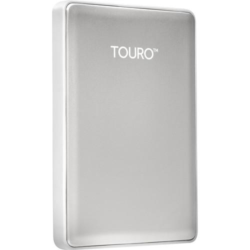 HGST 500GB Touro S Ultra-Portable External Hard Drive (Silver)