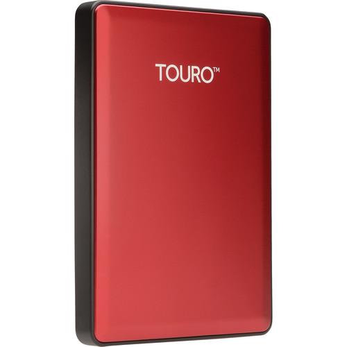 HGST 1TB Touro S Ultra-Portable External Hard Drive (Ruby)