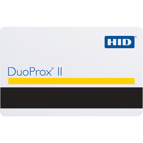HID DuoProx II Proximity Access Card with Magnetic Stripe