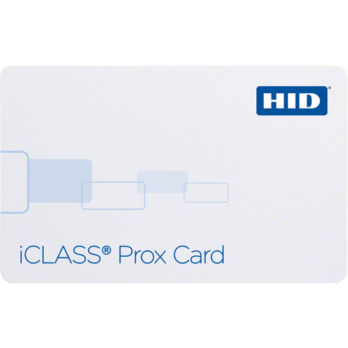 HID iClass Prox 32k Contactless Smart and Proximity Card with 2 Application Areas