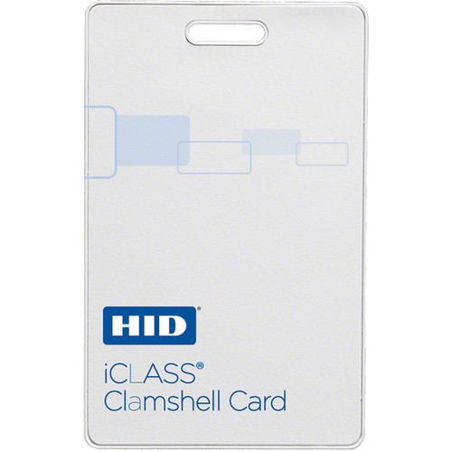HID iClass 2kb Contactless Clamshell Card