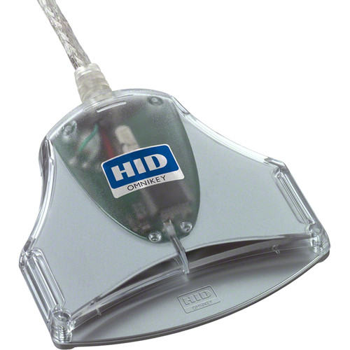 HID Omnikey 3021 Smart Card Reader (RoHS & TAA Compliant)