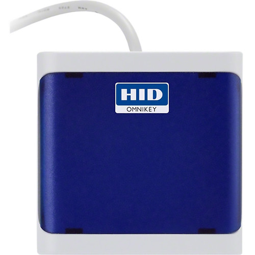 HID Omnikey 5021 Contactless Smart Card Reader (Baby Blue, FW 5.31)