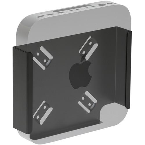 HIDEit Mounts MiniU Wall Mount for Apple Mac mini (Black)