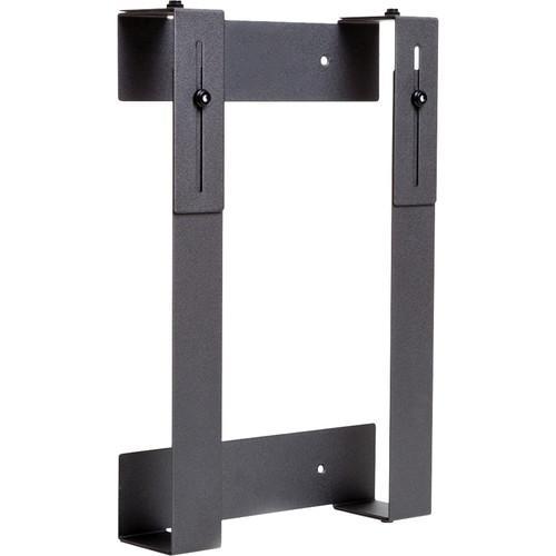 HIDEit Mounts Adjustable Wall Mount for Slim, Large Device (Black)