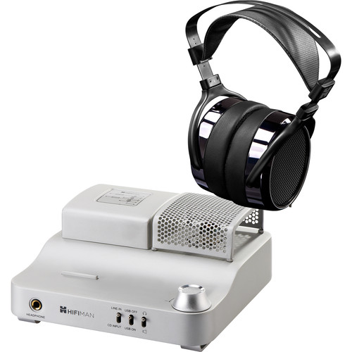 HIFIMAN HE400i Headphones and EF100 USB-DAC Hybrid Tube Amplifier Bundle