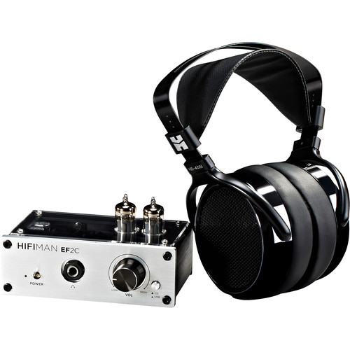 HIFIMAN HE400i Headphones and EF2C USB-DAC Hybrid Tube Amplifier Bundle