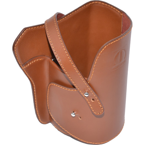 HIGH NOON CAMERA Large Camera Holster 200L (Brown, Leather)