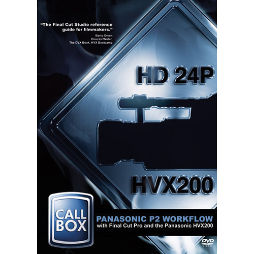 High Road Productions Training Video: Panasonic P2 Workflow with Final Cut Pro and the HVX200 (Download)